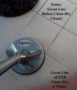 Tile & Grout Line Before & After