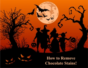 Removing Chocolate Stains