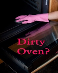 Cleaning Tip for your Oven